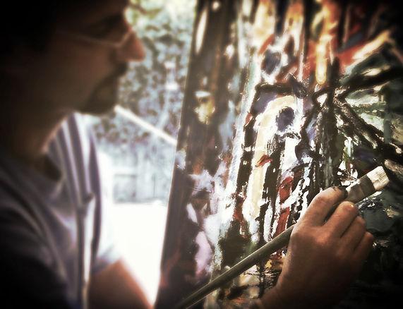 Fine artist Dean Baer