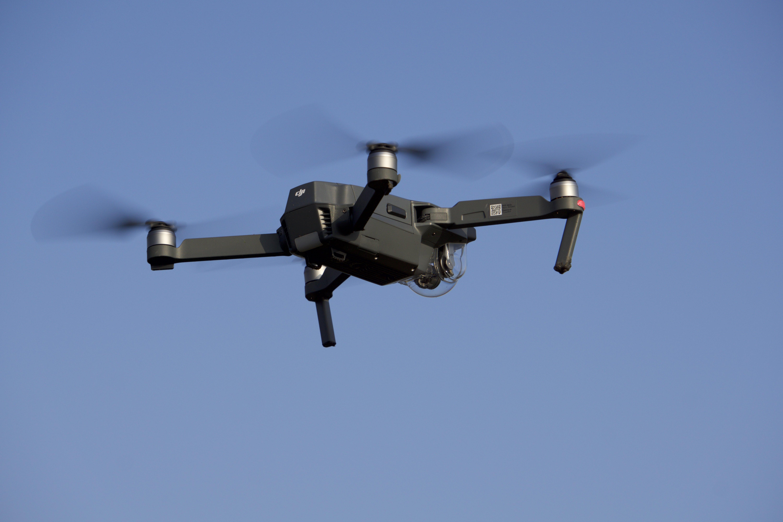 Mijn drone vliegend