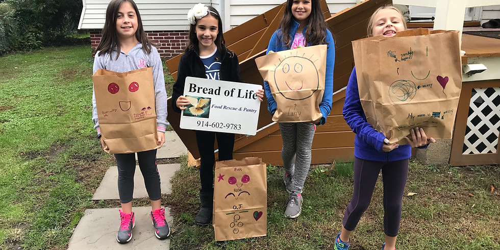 Family Volunteer Opportunity - Making Pantry Bags March 28, 2021