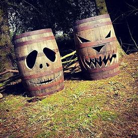 Jack O' Lantern Barrels