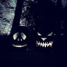 Jack O' Lantern Barrels By Night