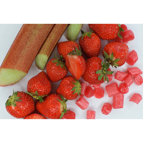 Rhubarb and Strawberry Sweets