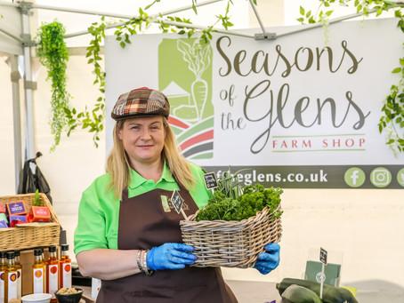 Seasons of the Glens pop up Farm Shop