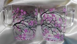 Cherry Blossom Mugs 3