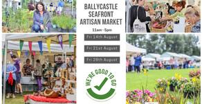 Ballycastle Seafront Markets Restarting