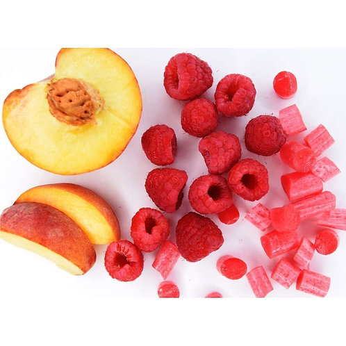 Peach & Raspberry Sweets