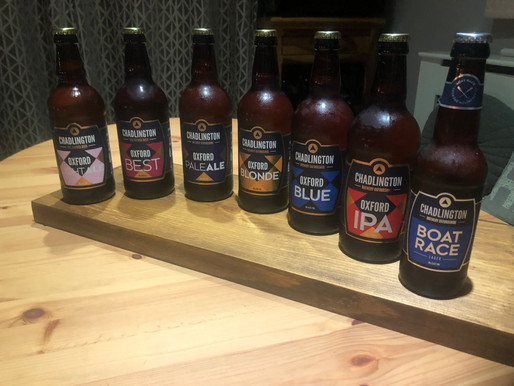 NEW REVIEW: Raising the Bar - The Oxford Beer, Chadlington Brewery