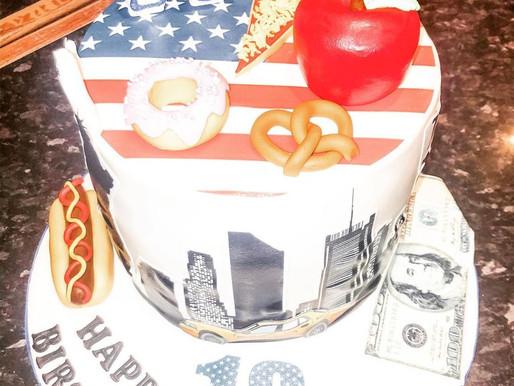 NYC themed birthday cake!🗽