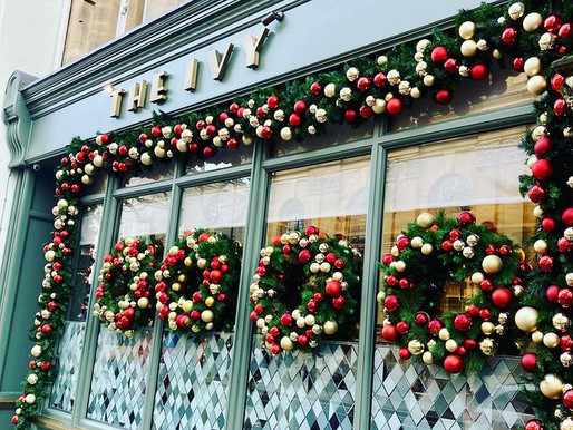 A wonderful meal at The Ivy Oxford