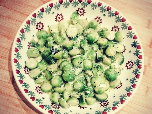 Cheesy Brussels