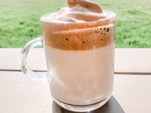 Creamy Dalgona coffee & Peanut Butter cookies