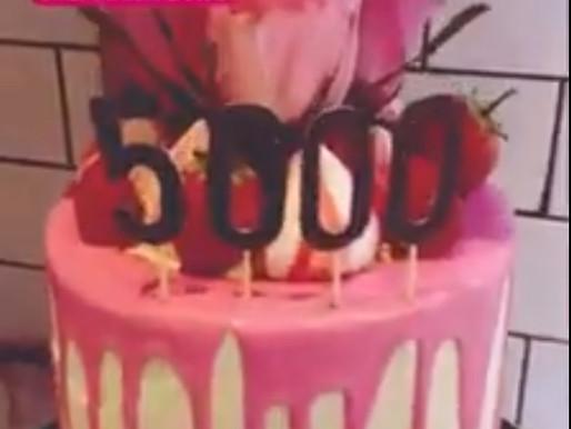 Celebration Cake from @flourandflo