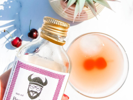Cherry Bakewell Whisky Sour