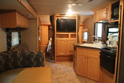 Trailer Rental Interior