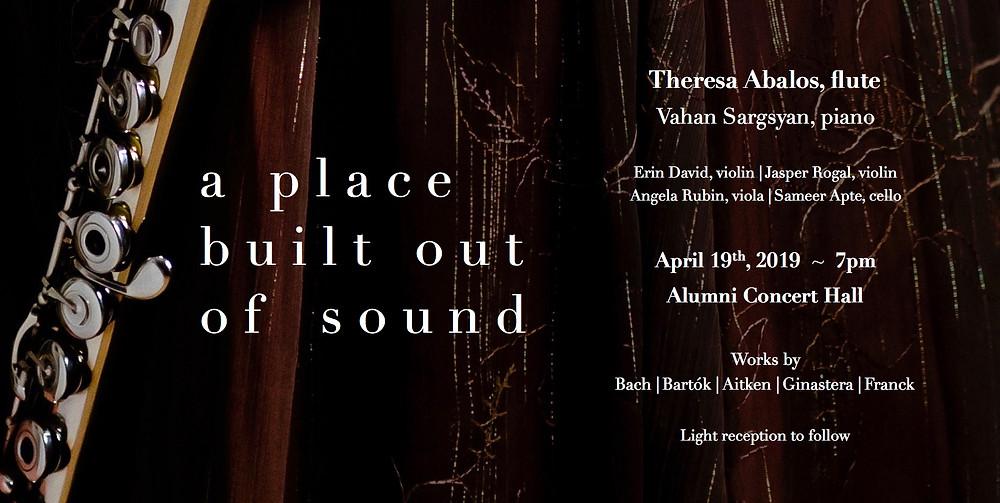 Theresa Abalos, flute, junior recital