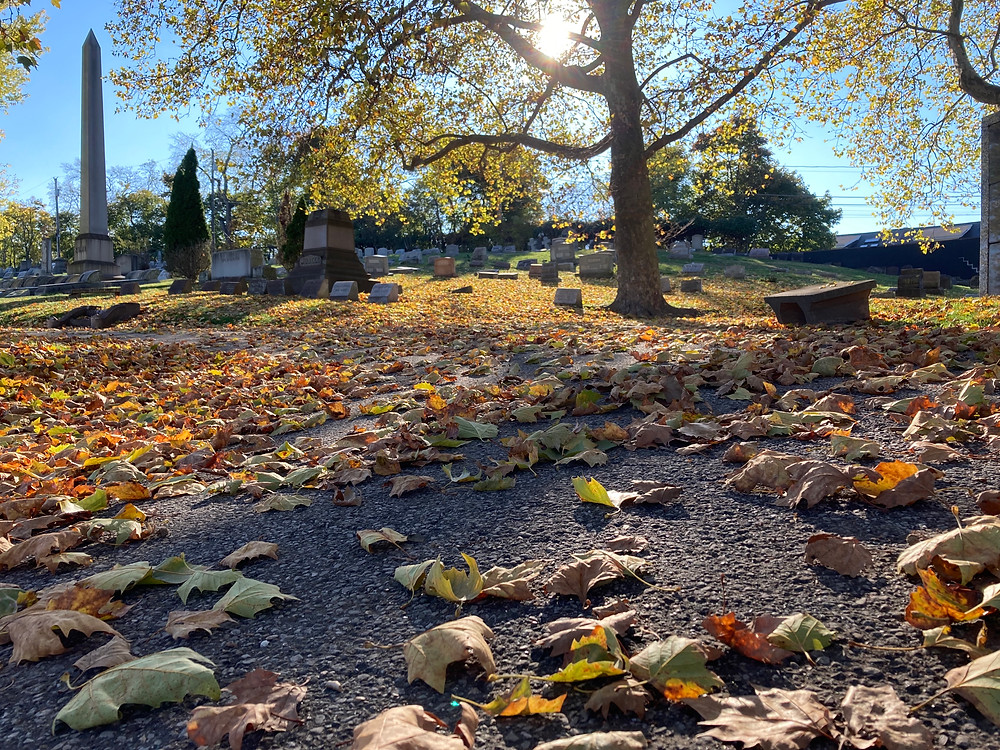 Homewood Cemetery. Pittsburgh. Photo by Theresa Abalos. 2020.