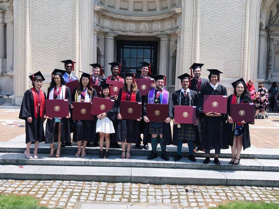 Carnegie Mellon University School of Music, undergraduate class of 2019. Photo from Veronica Lopez.