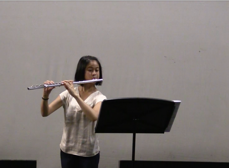My flute-playing now vs. 5 years ago