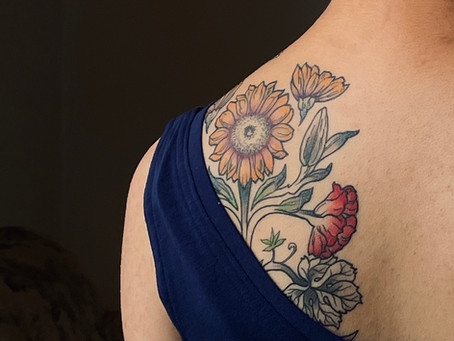 A daughter's open letter to her parents about her tattoos