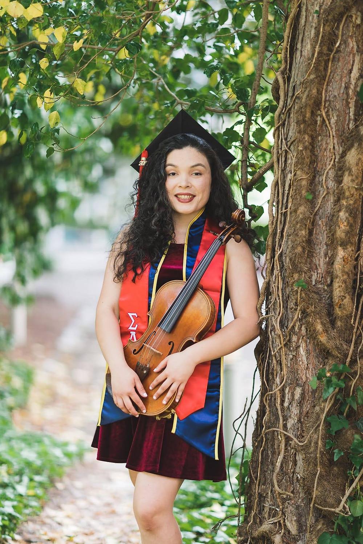 Veronica Lopez, violist & music educator