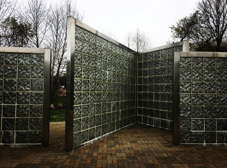 Photo by Theresa Abalos. Holocaust memorial between Greenfield, Summerset, in Pittsburgh. April 2020.