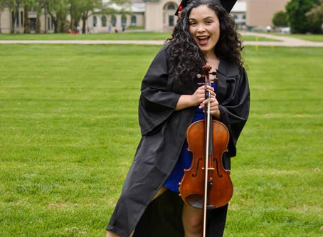 Veronica Lopez, violist & music educator (1/2)