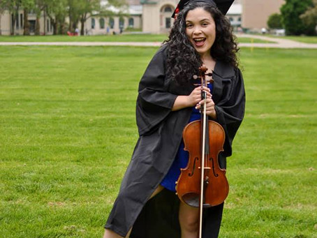 Veronica Lopez, violist & music educator (1/2)