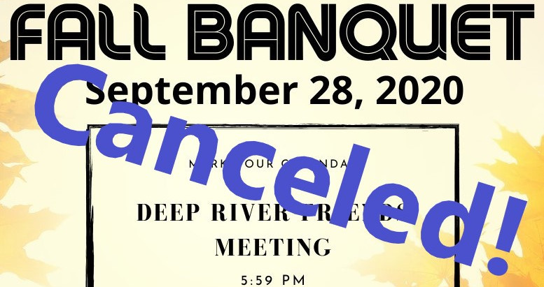 Quaker Men Fall Banquet!