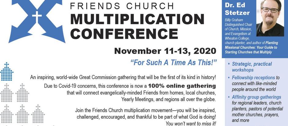International Friends Church Multiplication Conference