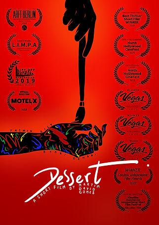 Poster of Dessert with Festivals Print.j