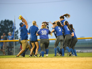Bravettes Win First Round of Post-Season Play