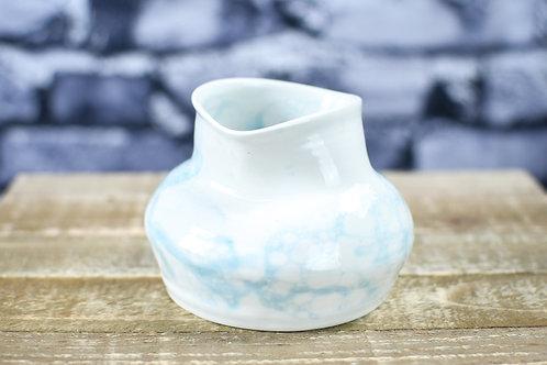 Pinched Porcelain Pot