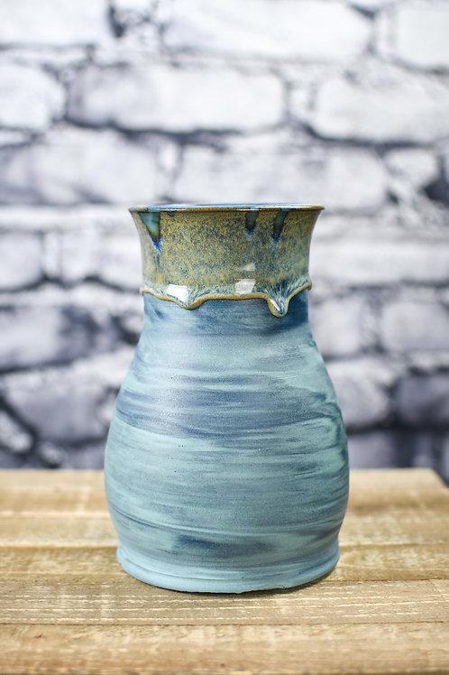 Blue Marble Vase