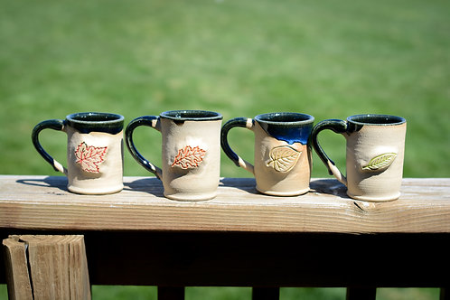 Leaf Mug Set (4)