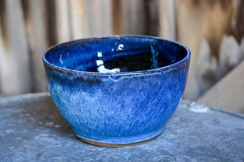 Blue Surf Cereal Bowl