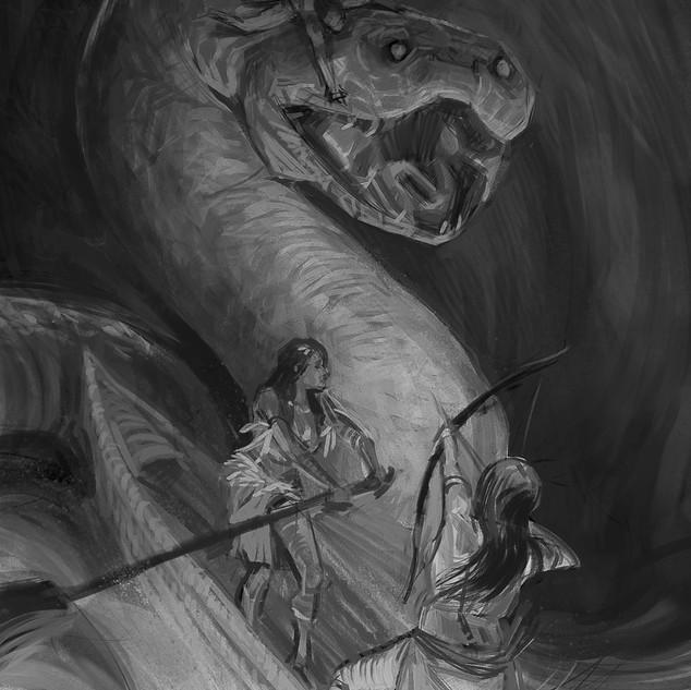 Combate no rio