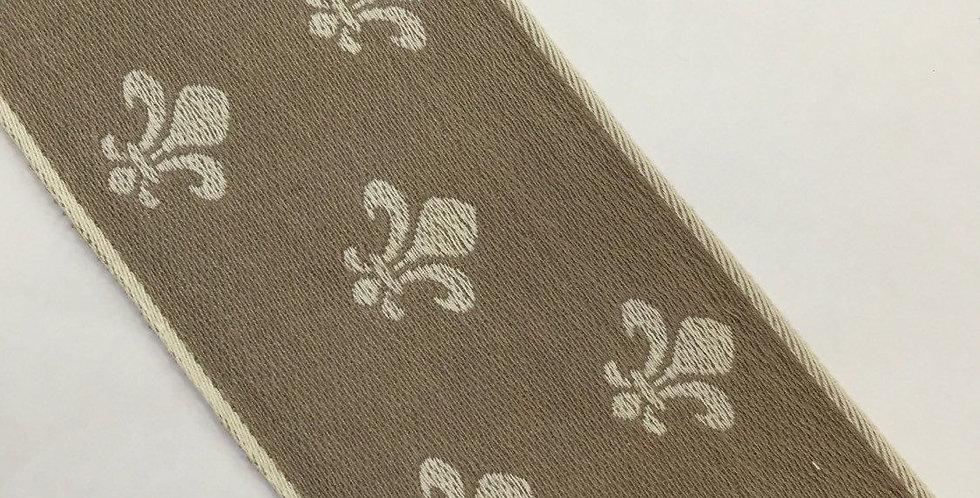 Fleur de lis Flat Braid/Trim - Tape