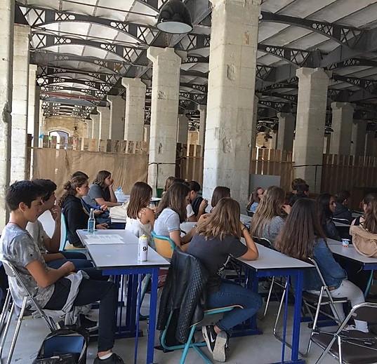 Classe nomade élèves 2016-2017