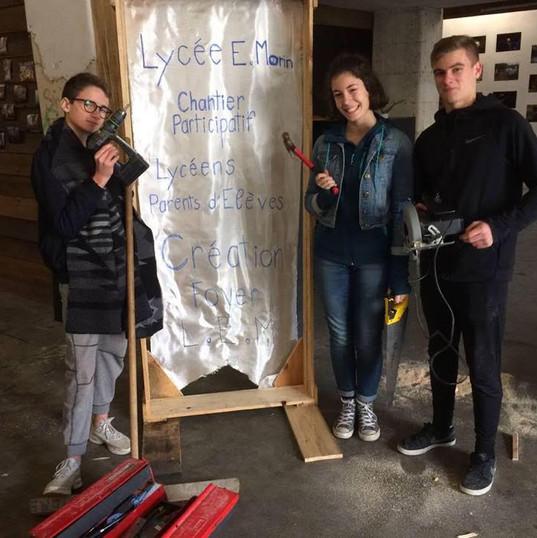 chantier participatif - fevrier 2018