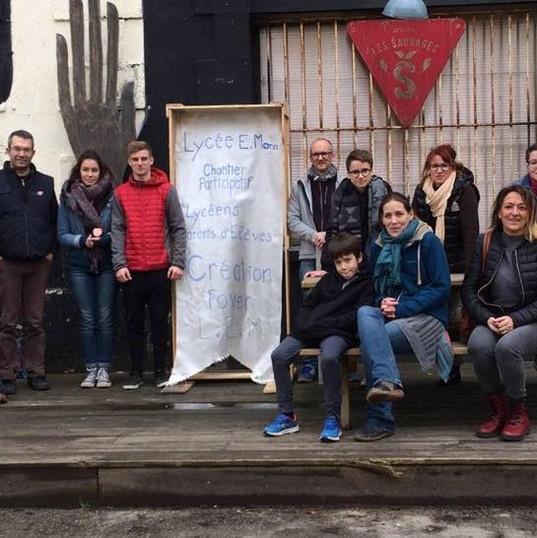 Chantier participatif foyer du Lem février 2018