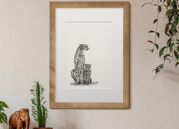 Graphite Cheetah Study