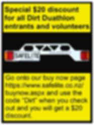 Dirt Duathlon discount post- June 2020 (