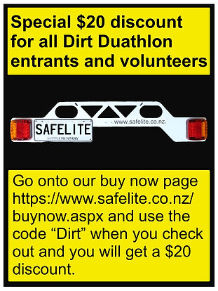 Dirt Duathlon discount post- June 2020 (