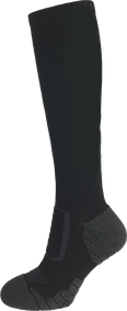 TS28U Compression Sock Black Grey.png