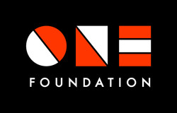 ONE Foundation - Full URL Logotype Black