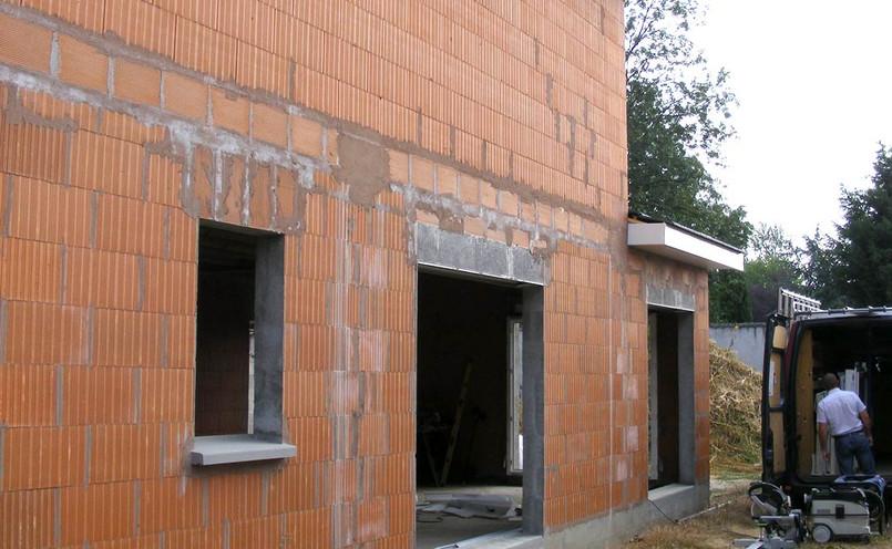 Construction en brique