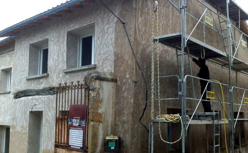 Préparation des façades
