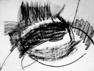 Monochrome sur papier arche...