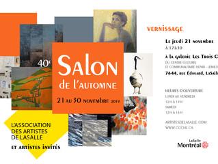 Exposition de Groupe Salon dÀutumn