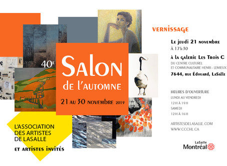Exposition de Groupe Salon dÀutumn